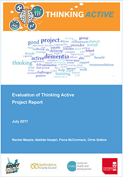 Evaluation of Thinking Active Project Report
