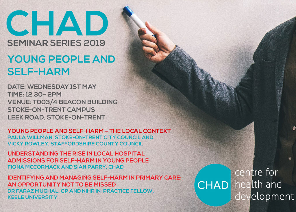 Research Seminar Young People and Self-harm