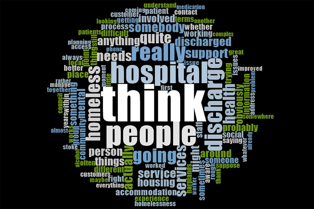 Hospital Discharge and Homelessness: Local stakeholder perspectives