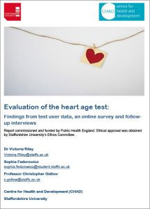 Evaluation of the heart age test (HAT)