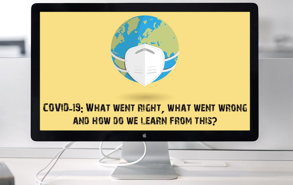 free webinar series around COVID-19